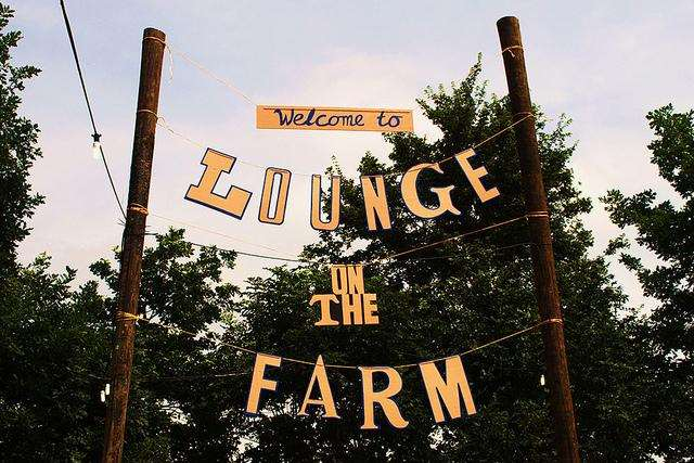 Lounge on the Farm banner