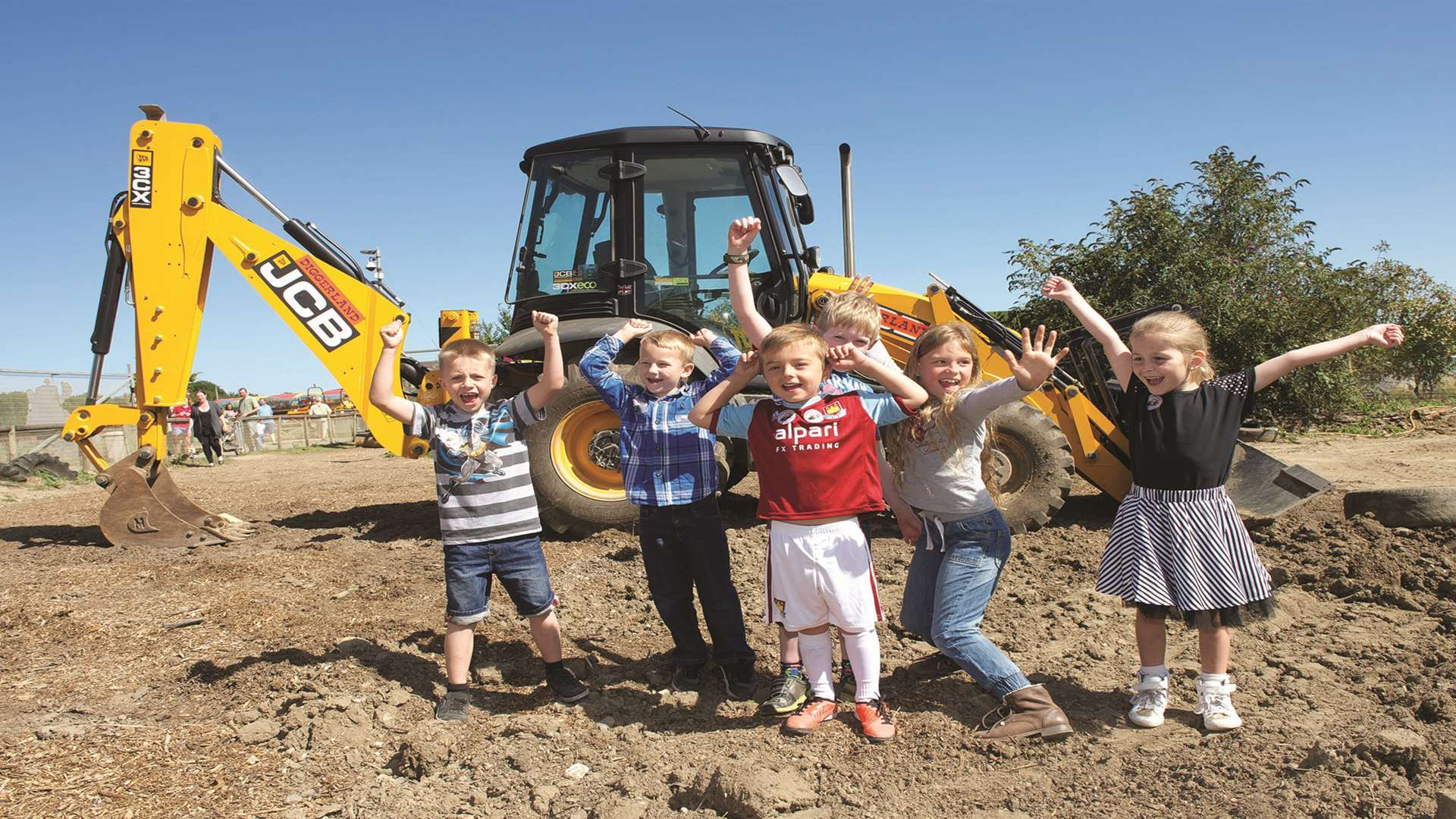 Summer holiday fun at Diggerland