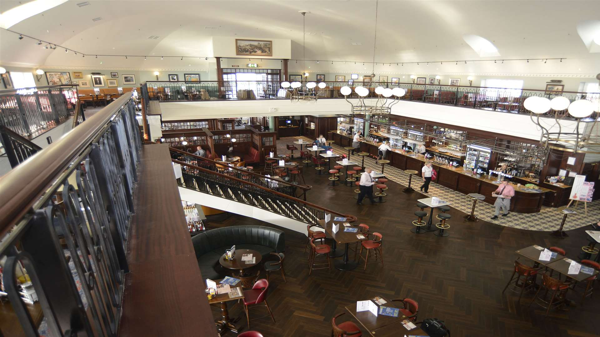 Royal Victoria Pavilion in Ramsgate is the UK's largest Wetherspoons pub