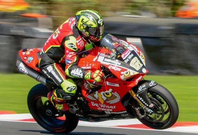 Shakey is a six-time British superbike champion