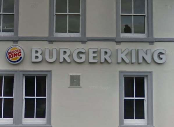 Burger King in Gillingham