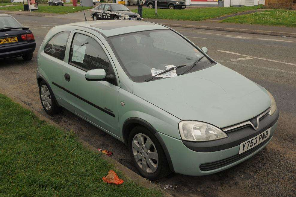Little Corsa up for sale on Rochester Road