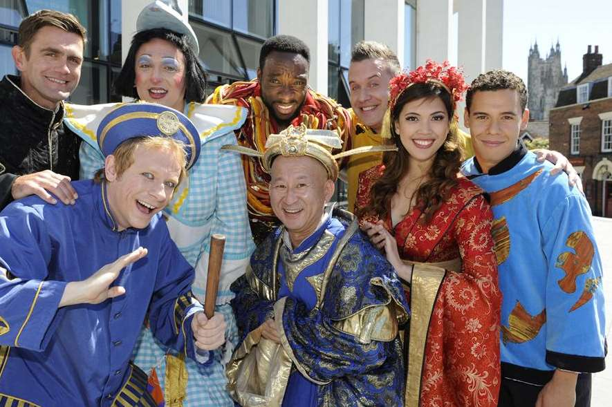 Meet the cast of Canterbury's Marlowe Theatre panto this year Aladdin