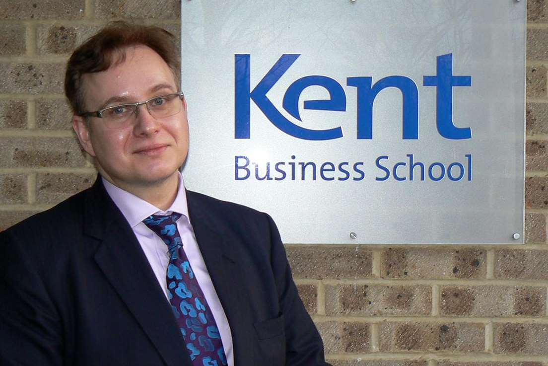 Kent Business School head Professor Martin Meyer
