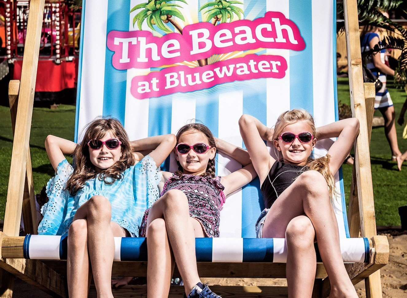 The Beach is at Bluewater this summer