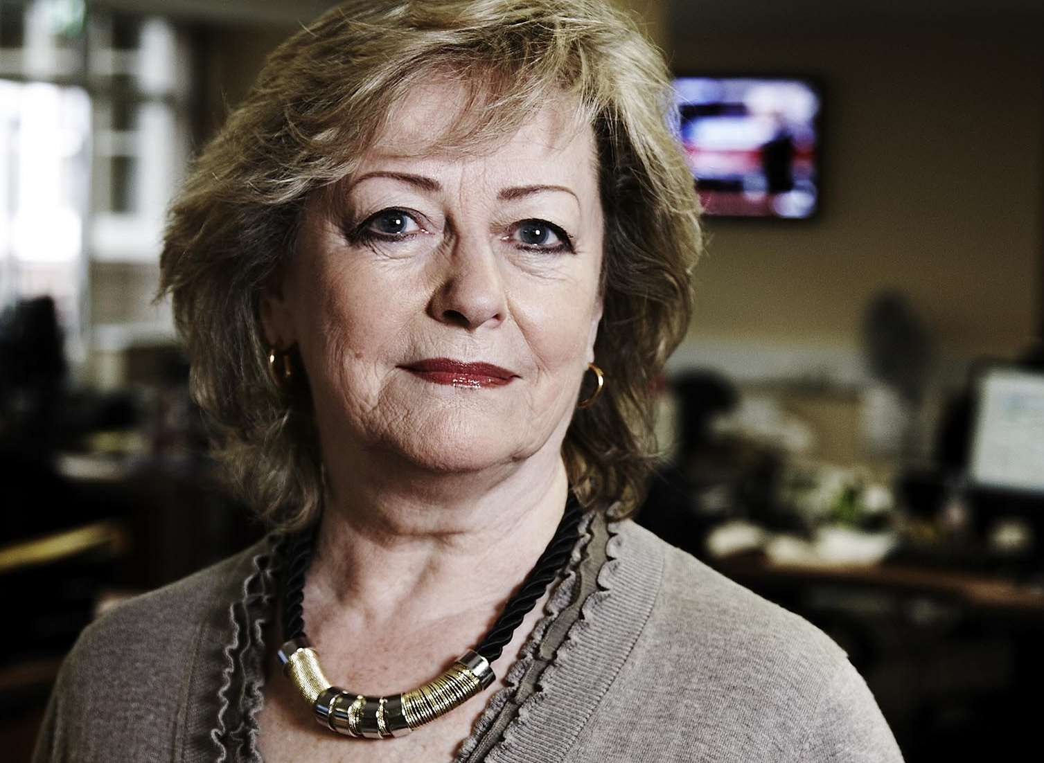 Kent police and crime commissioner Ann Barnes when she appeared in a TV documentary. Picture: Channel 4/Richard Ansett