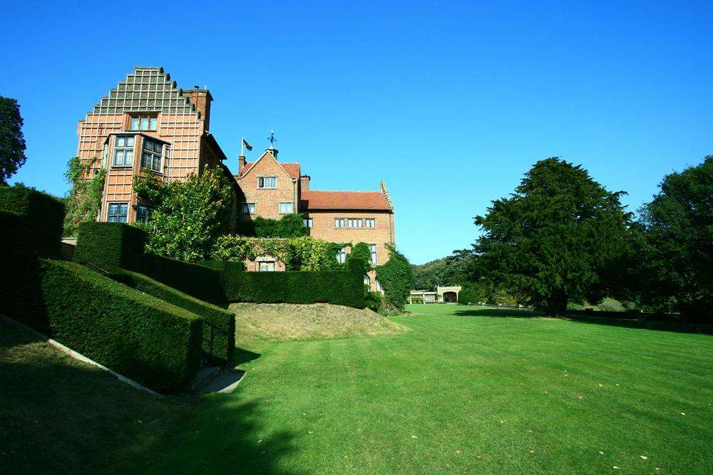 Winston Churchill's former home Chartwell, where Lady Soames grew up