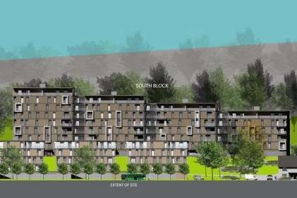 Initial images of the planned Buckland Hospital site flats. Picture: Beanland Associates Architects