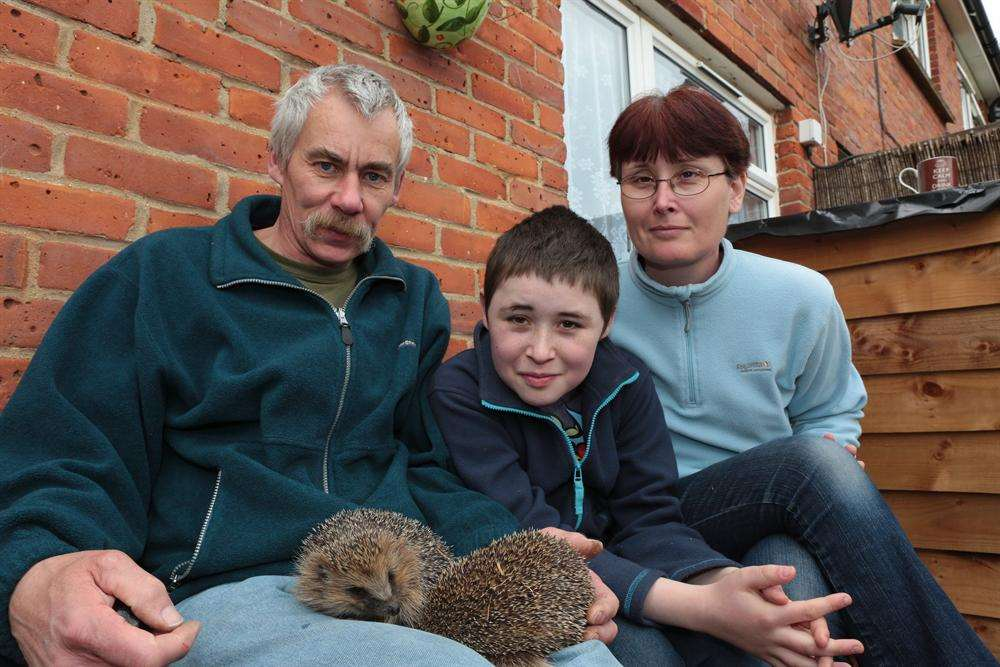 Tanya, Christopher and Shane Alvis have had to close their small wildlife rescue centre after 12 years