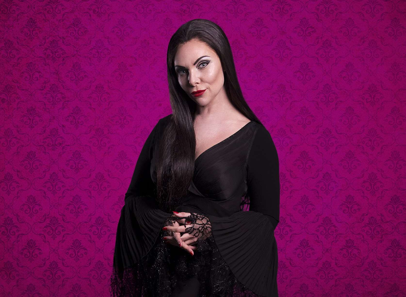 Samantha Womack as Morticia Addams