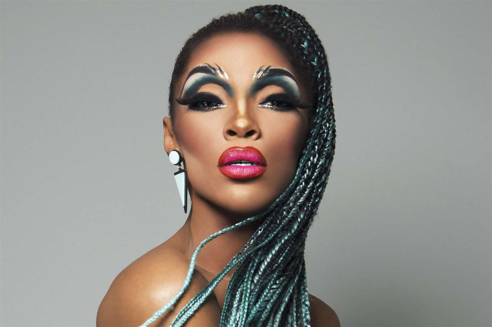 Drag Act Vixen who is performing at Canterbury Pride 2018