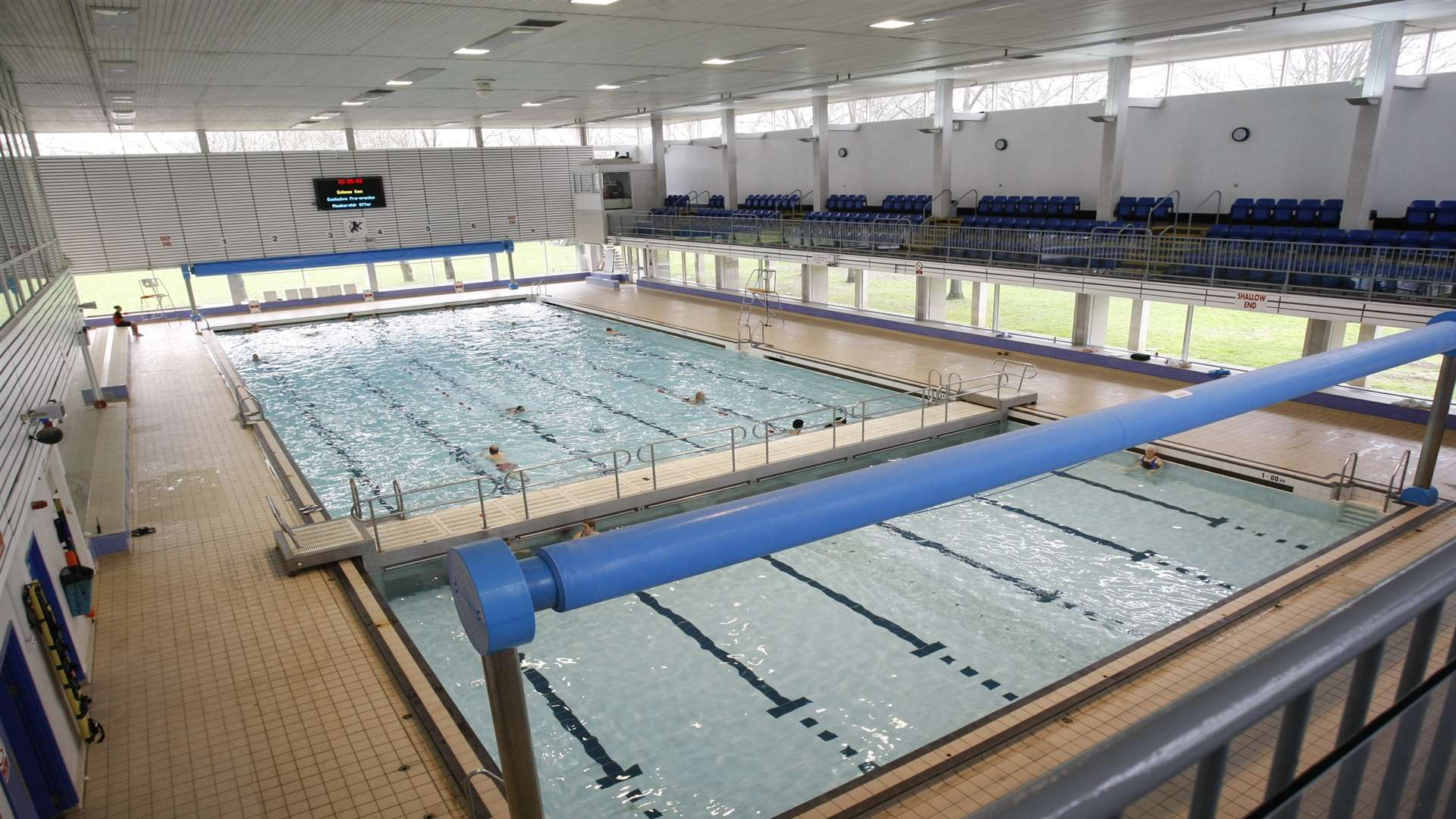 medway park in gillingham closes pool due to 39 milk like water 39