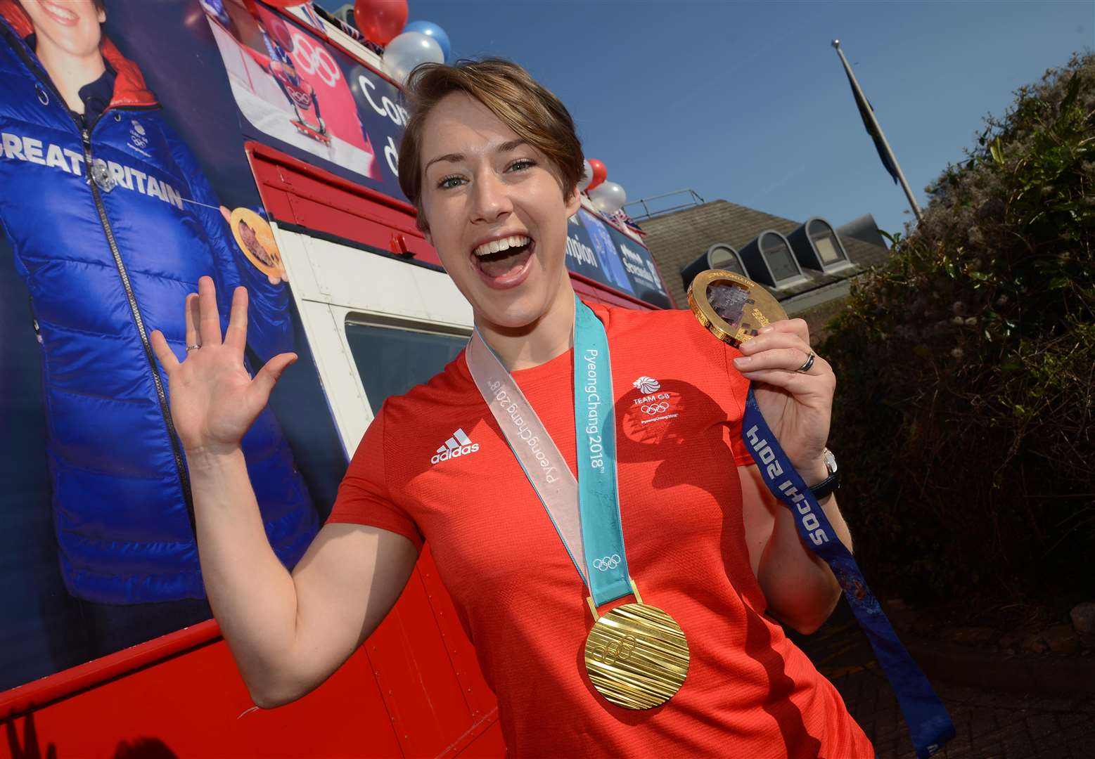 Lizzy Yarnold is the most successful Winter Olympian in British sporting history Picture: Gary Browne