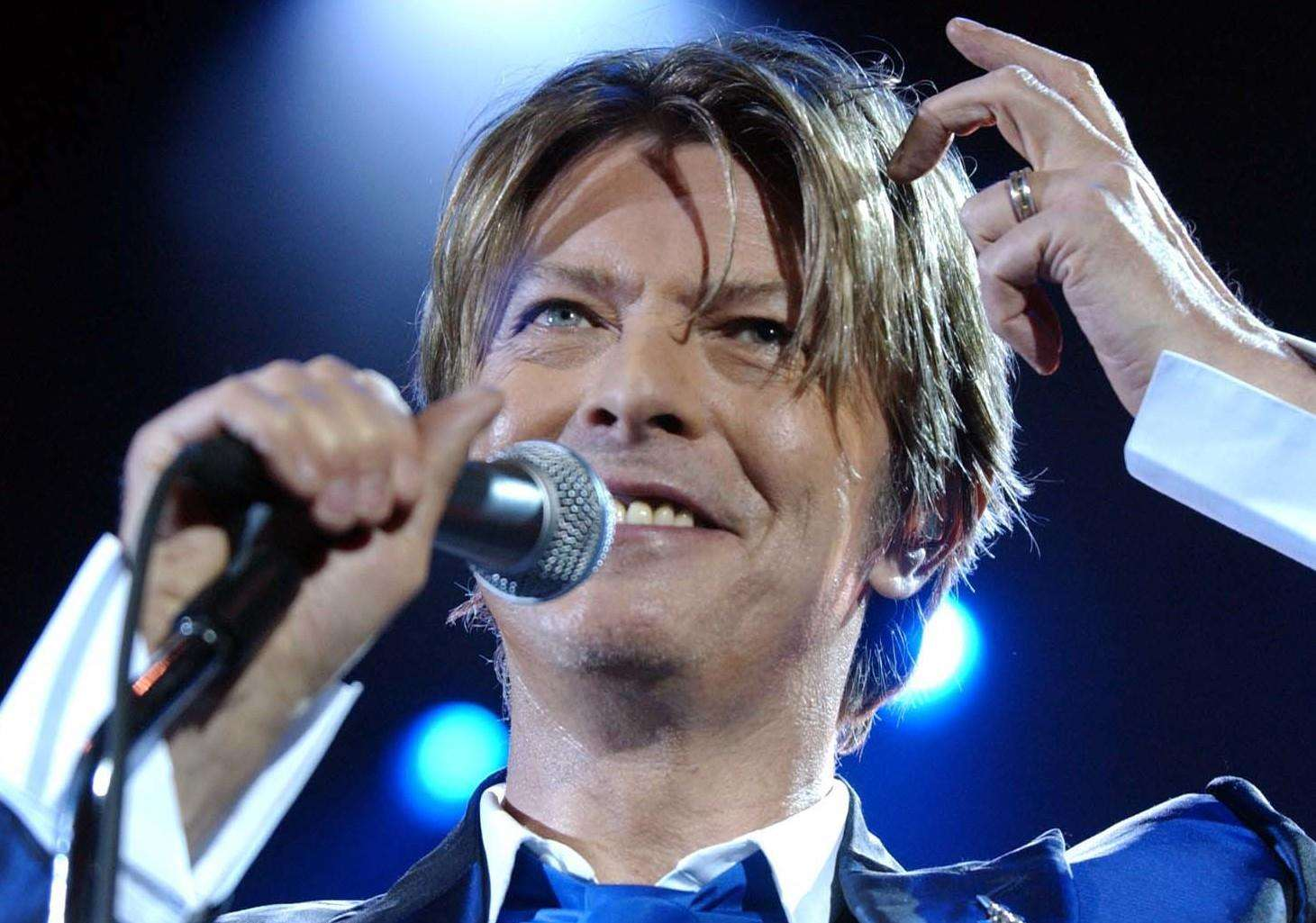 David Bowie lived in Maidstone for a short time in his youth - as well as performing in the town