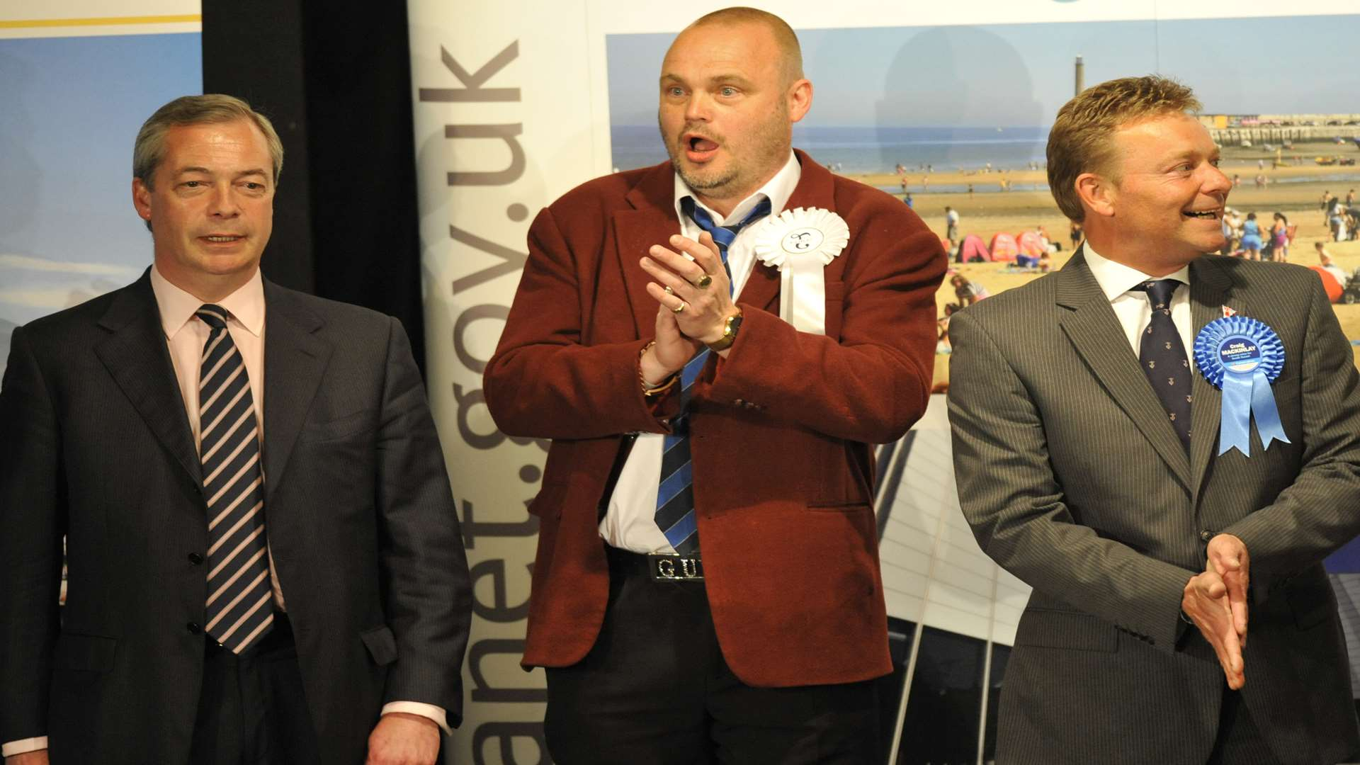 The moment Craig Mackinlay won the South Thanet seat