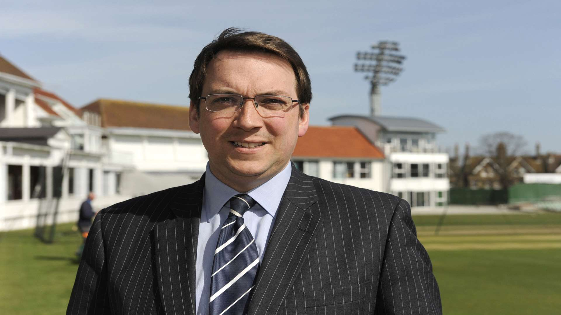 Kent chief executive Jamie Clifford. Picture: Tony Flashman.