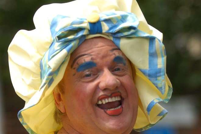 Dave was one of the country's most famous pantomime dames