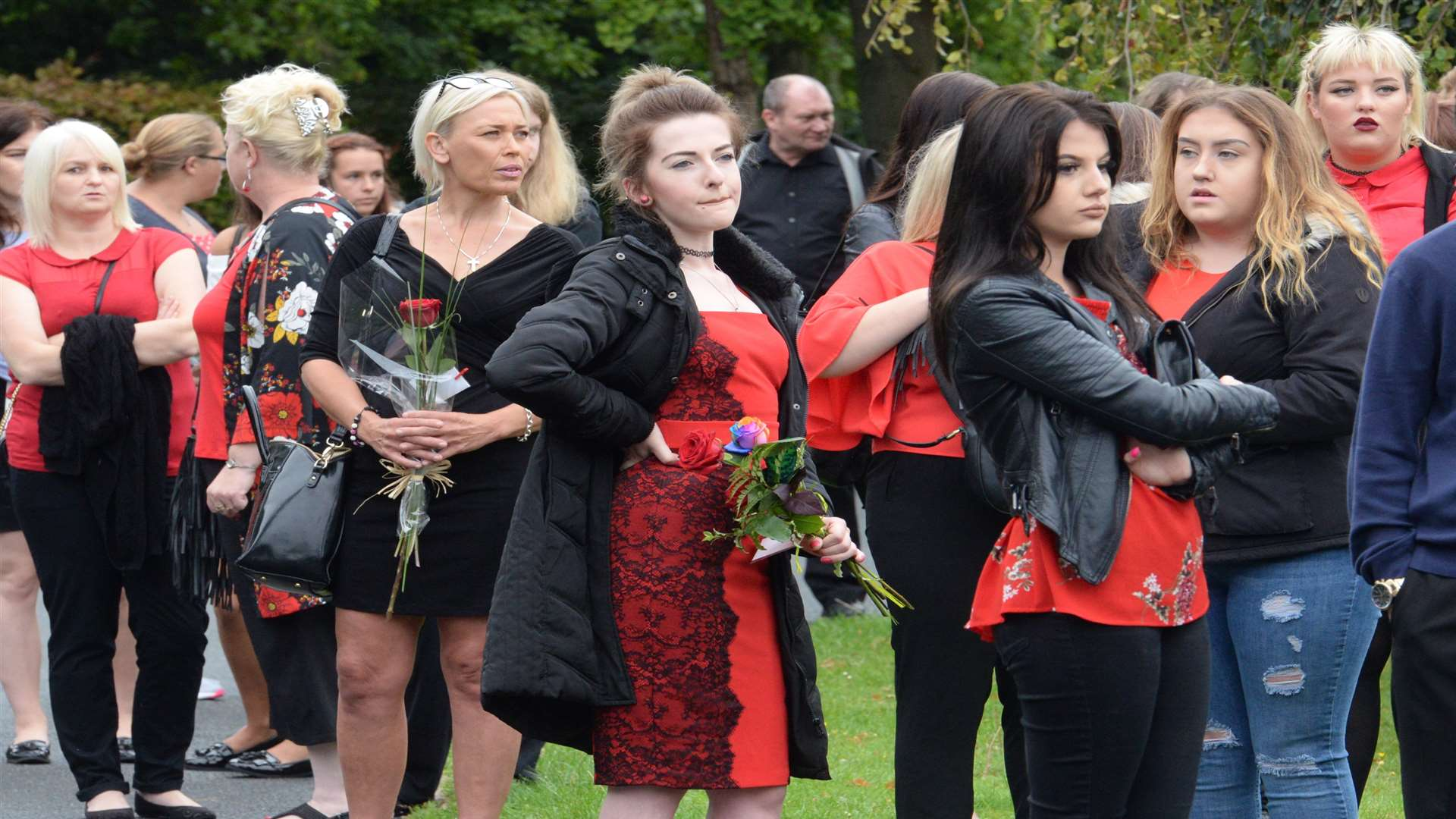 Friends gather for Taiyah's funeral