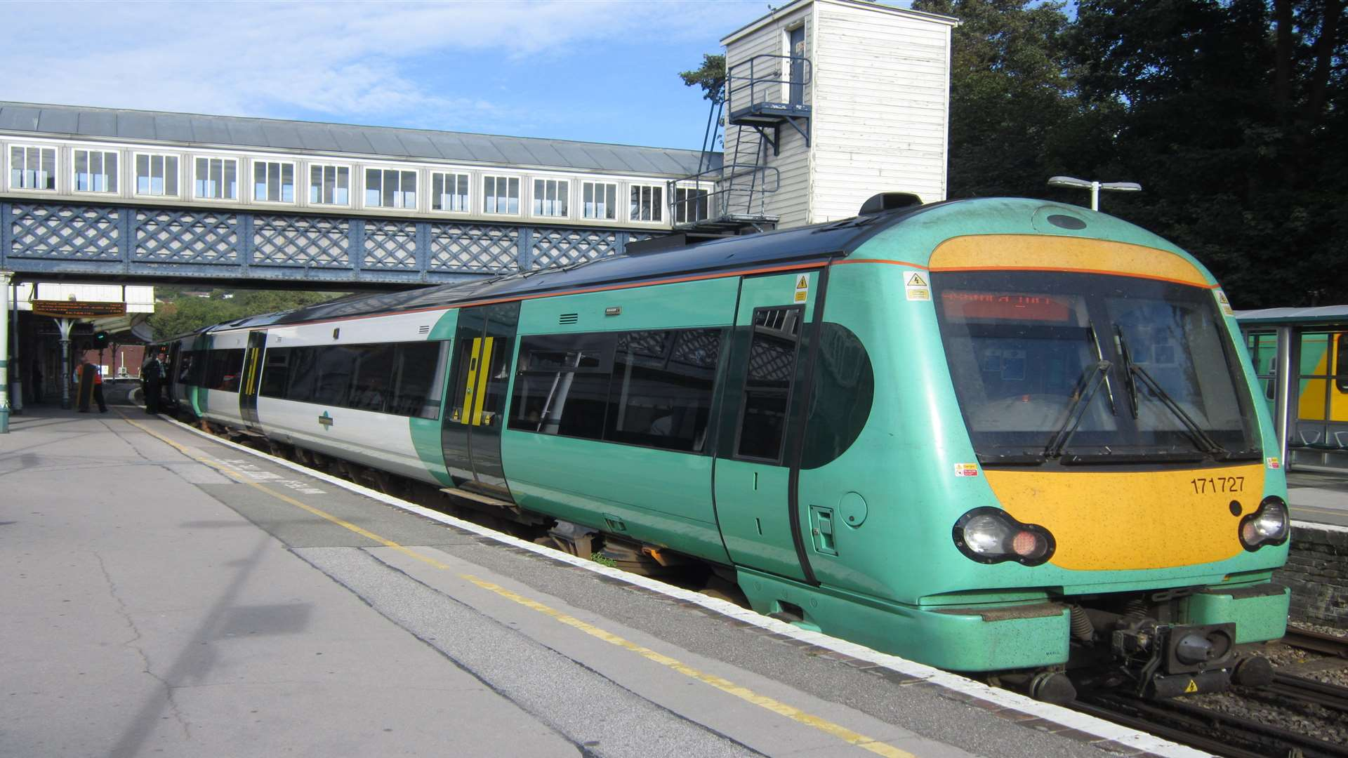 A Southern Rail train. Stock picture.