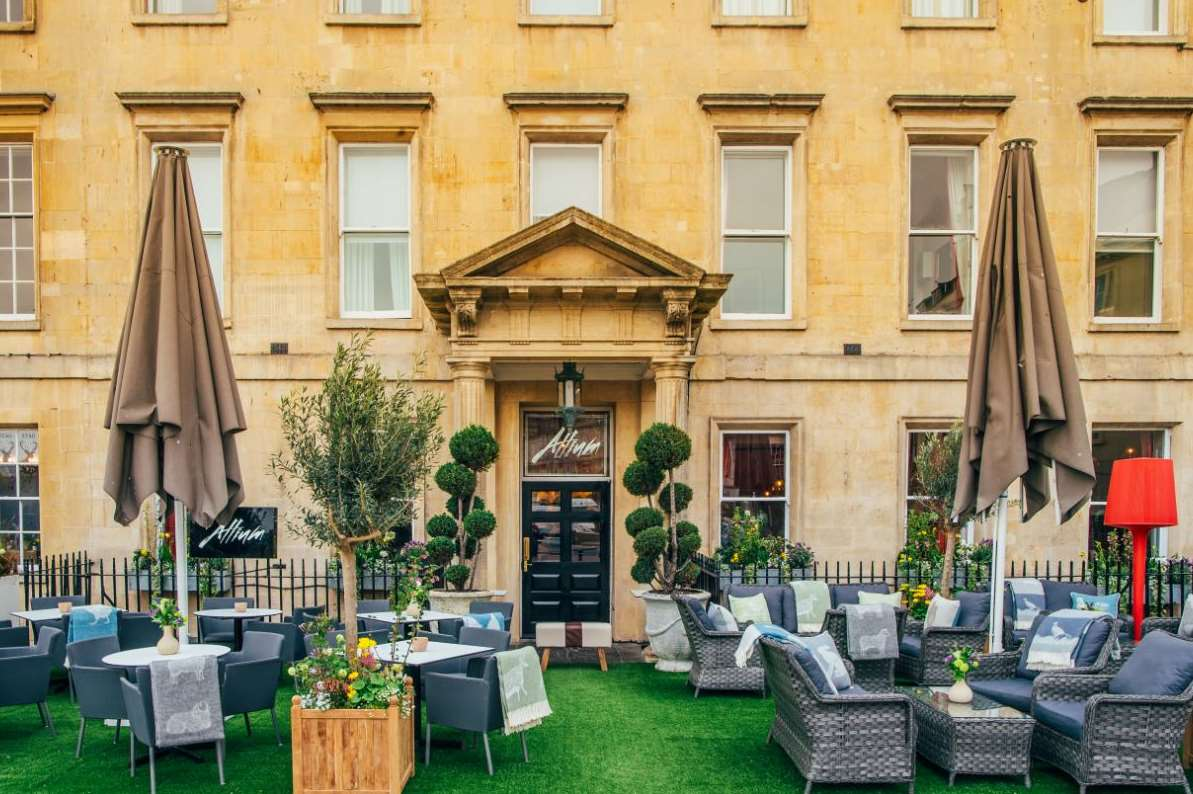 Centrally-located Abbey Hotel, Bath