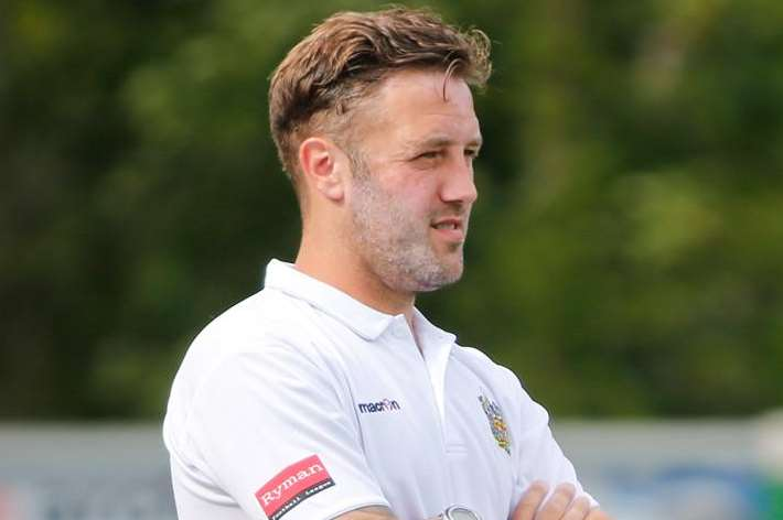 Maidstone boss Jay Saunders says his team are yet to hit top gear Picture: Matthew Walker