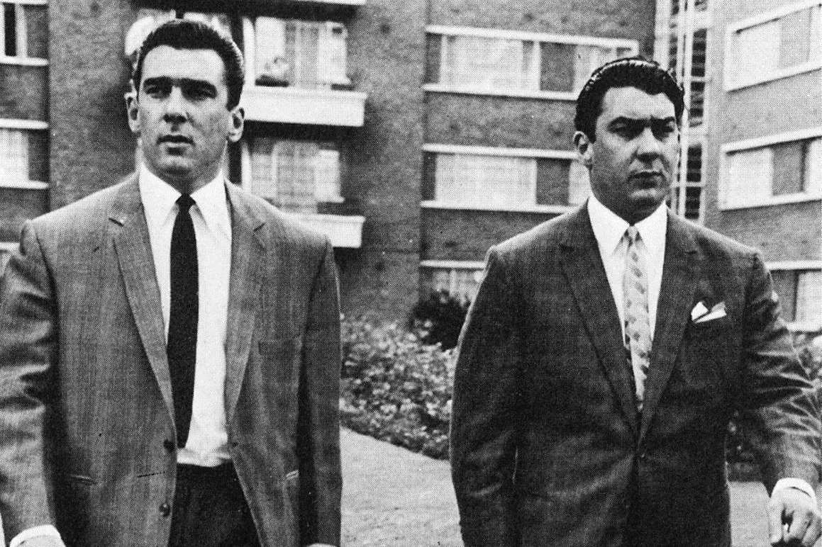 Paintings said to be done by the Krays in prison up for auction in Kent turned out to be fake. Picture: Daily Express