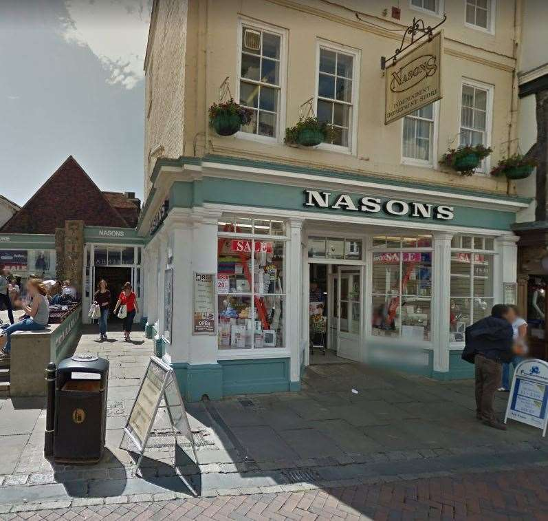 Nasons Man Arrested For Canterbury High Street Burglary