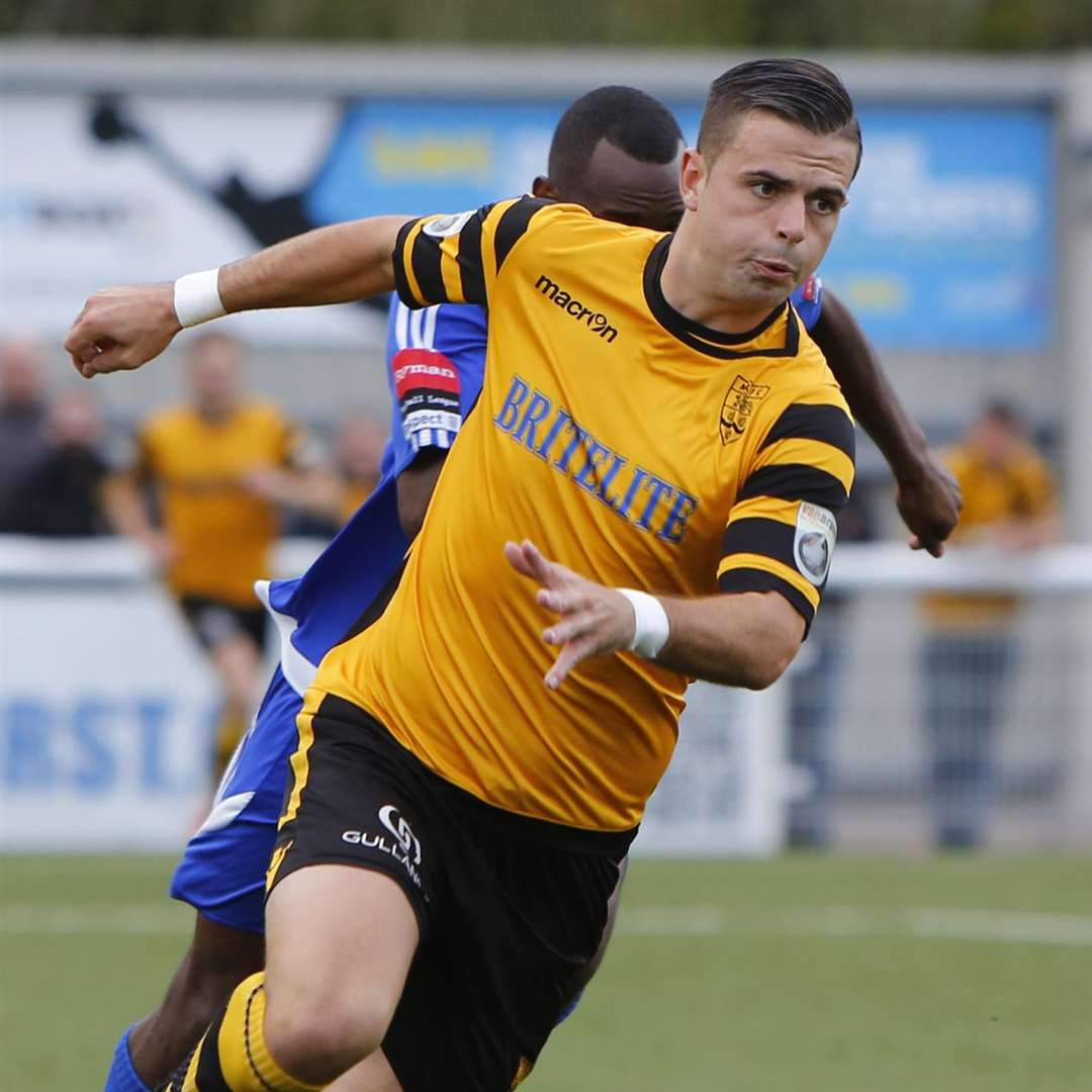 Ben Greenhalgh pictured in his Maidstone days Picture: Andy Jones