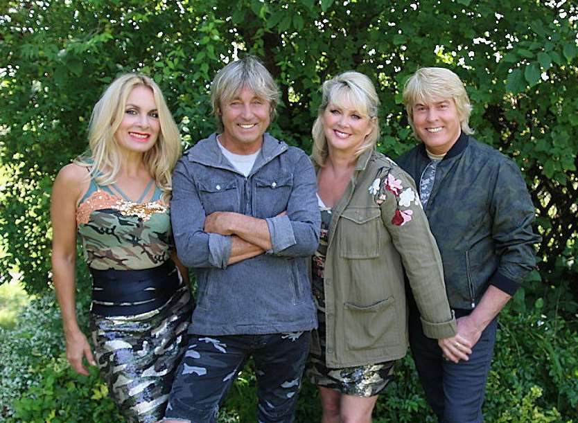 The Fizz band members (L to R): Jay Aston, Bobby McVay, Cheryl Baker and Mike Nolan. Picture: PA Photo/MPG Records