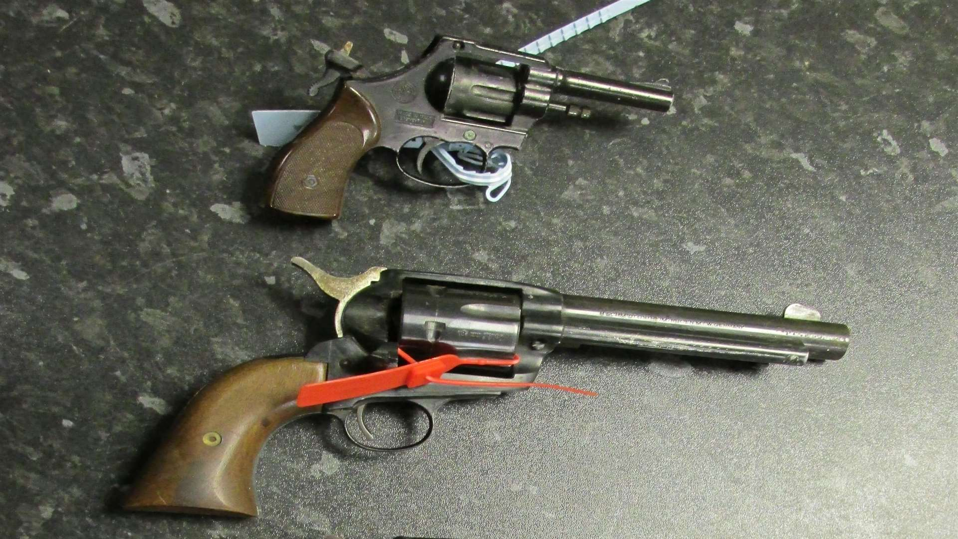 Around 100 weapons were handed in last year. Picture: Kent Police