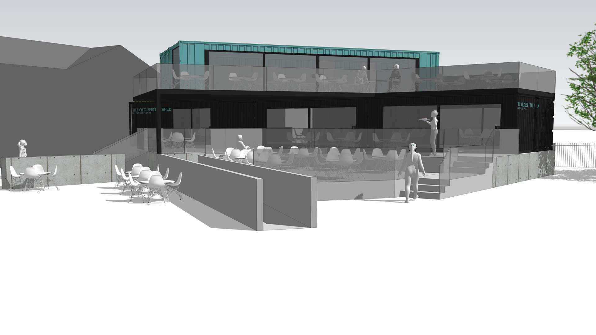 A restaurant and bar specialising in local produce will be built on the South Quay in Whitstable Harbour