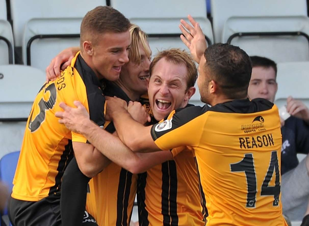 Team spirit plays a big part at Maidstone Picture: Steve Terrell