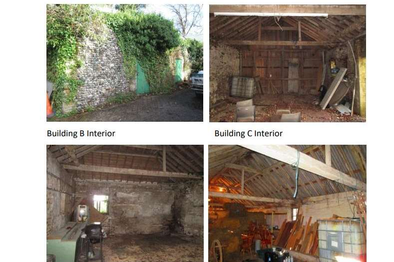 Exterior and interior of buildings. Pic: Planning application