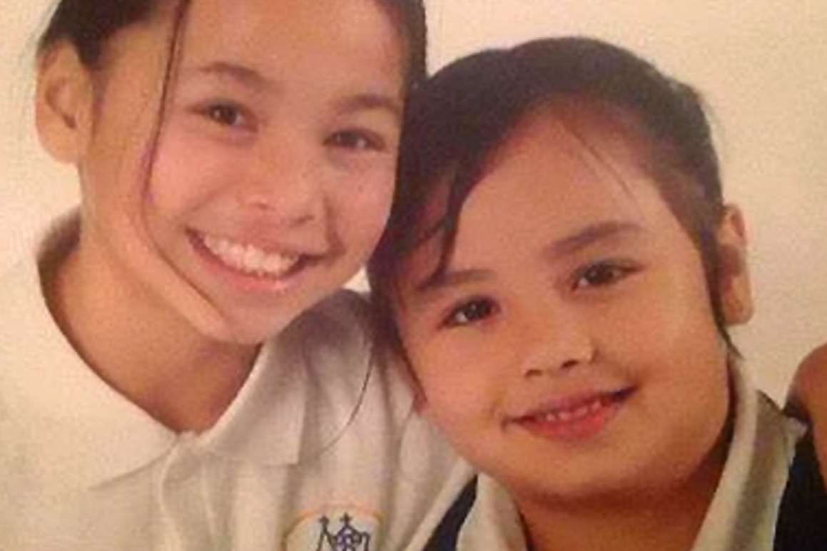 Annie and Alina Day, six and ten, went missing on June 1 while visiting their mother in Pattaya, Thailand. Picture: SWNS.com
