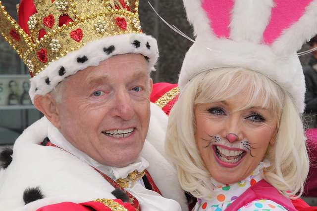Paul Daniels and the lovely, Debbie McGee