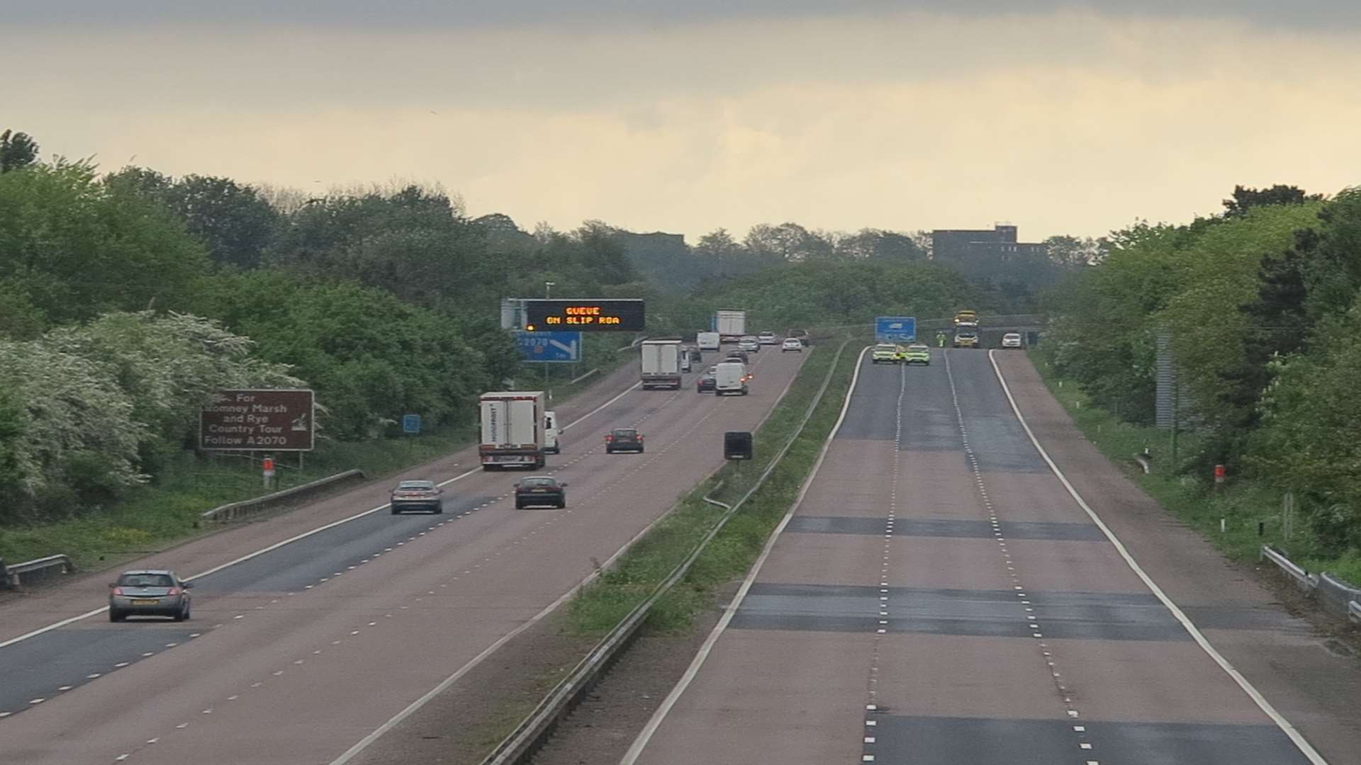An investigation was launched after Nigel Stepney's death on the M20 near Ashford. Picture: Andy Clark