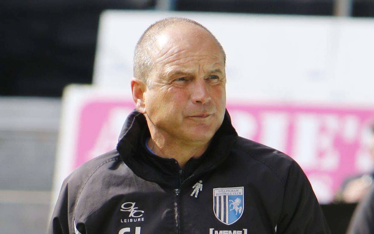Gills boss Steve Lovell has high hopes for new signing Regan Charles-Cook Picture: Andy Jones