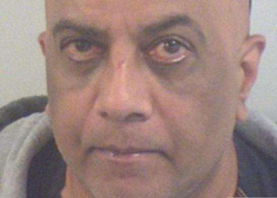 Jaswant Gohil was sentenced to three years behind bars. Picture: Kent Police
