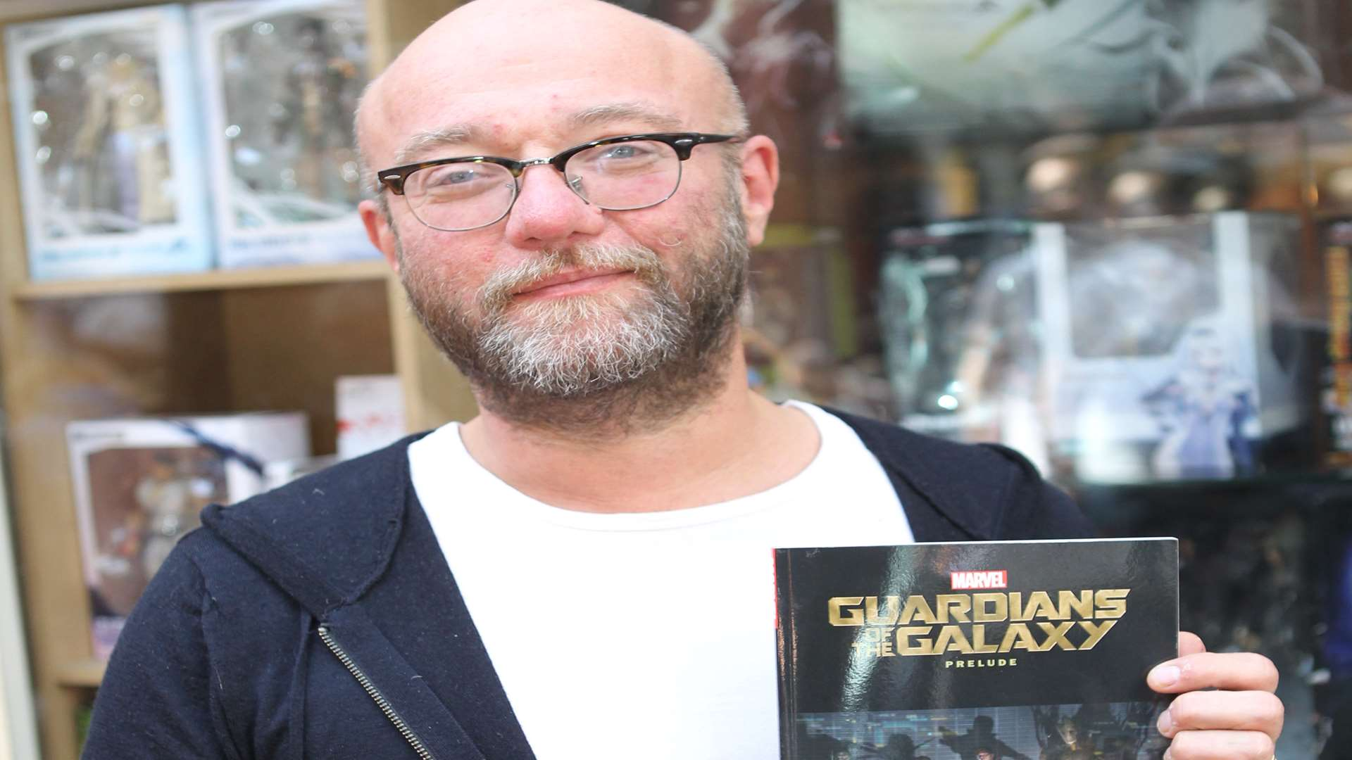 Dan Abnett's comic book inspired the movie Guardians of the Galaxy