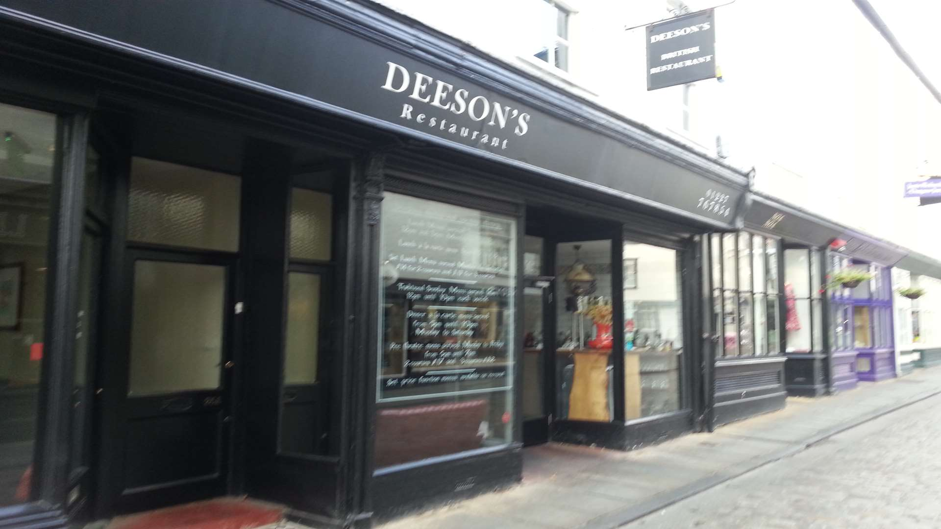 Deeson's in Canterbury
