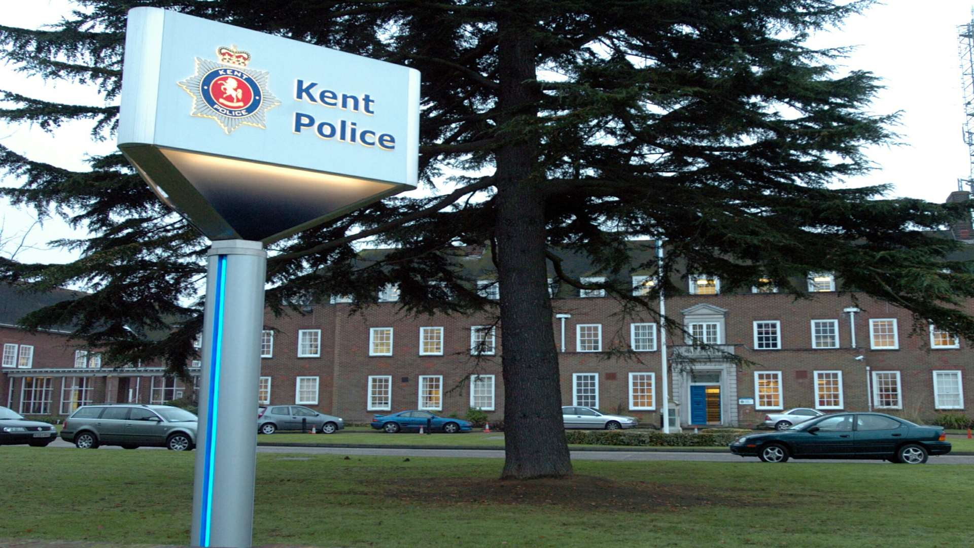 Kent Police HQ in Maidstone