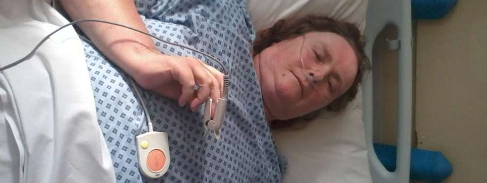 Debra Thomas, from Loose, suffered from heart failure while at a Maidstone clinic