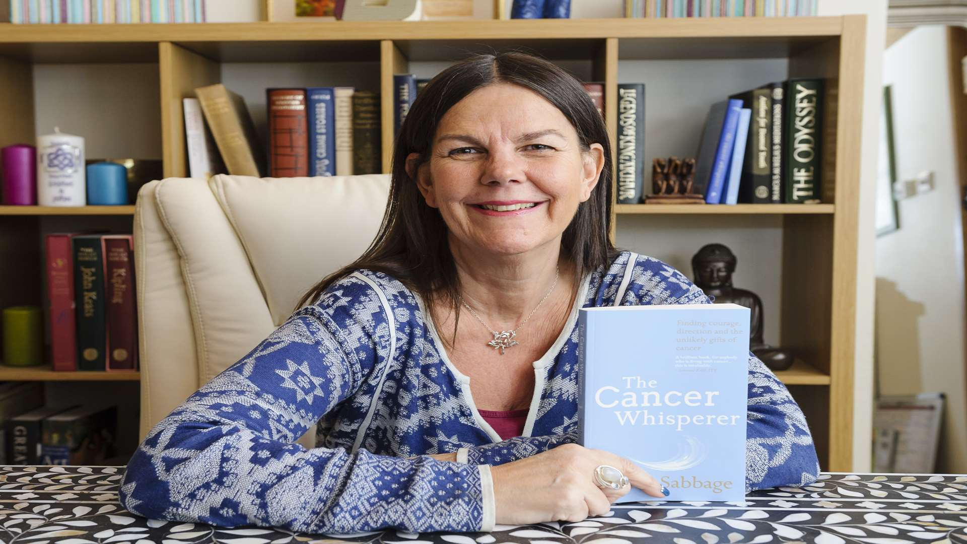 Sophie Sabbage has written a book detailing her experience with cancer, which she hopes will help others