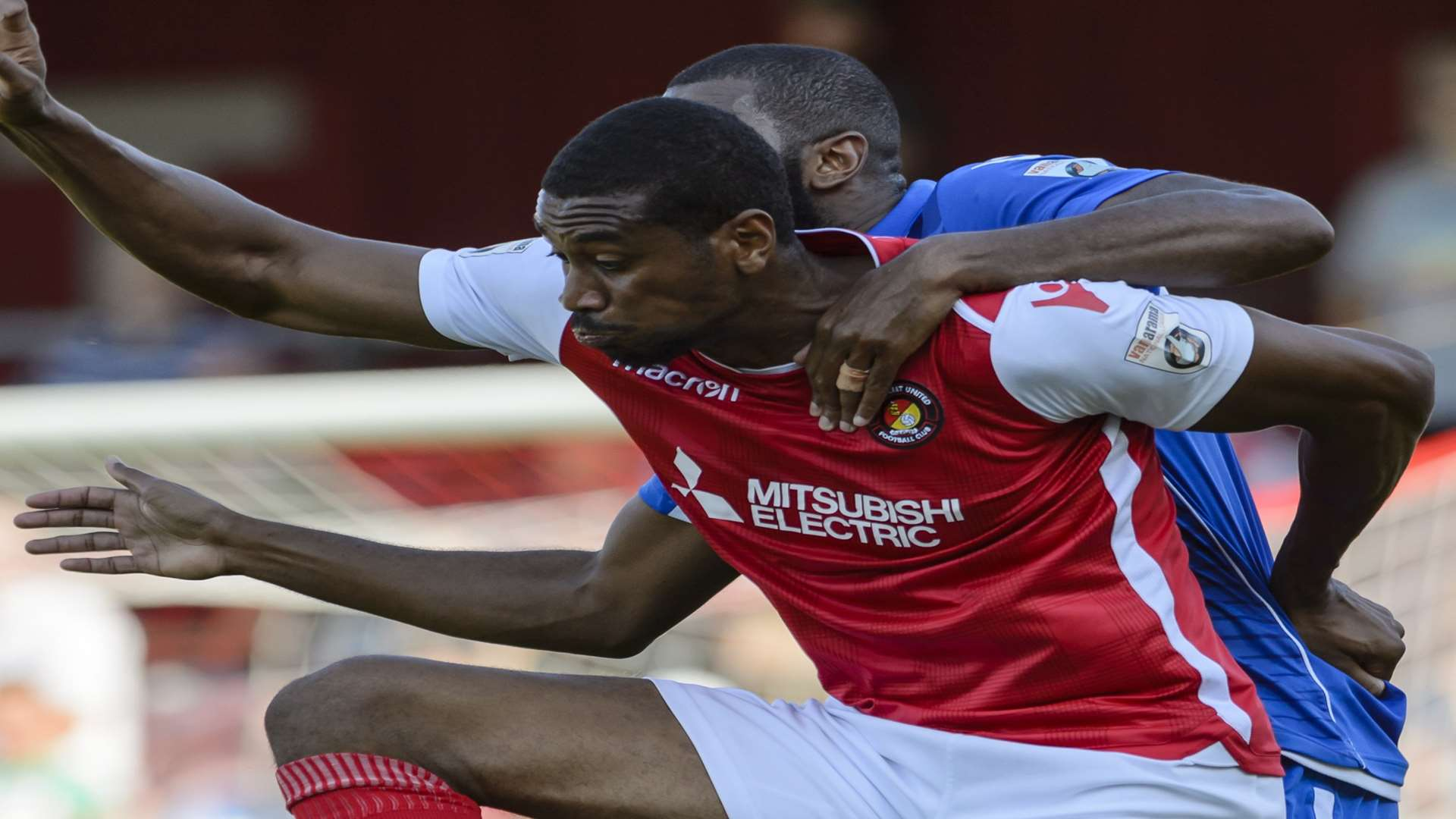 Danny Mills in action for Ebbsfleet Picture: Andy Payton