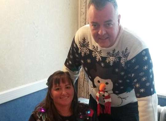 Nigel Prettyjohns married his wife Leanne two days before Christmas