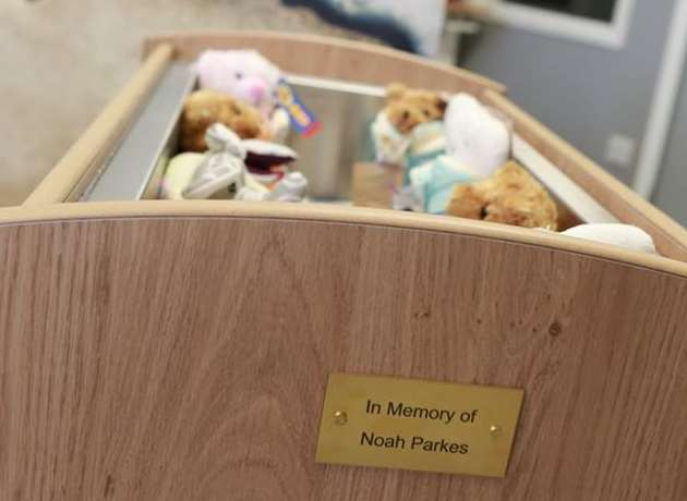 "Bond Group makes ""cold cots"" for Medway charity Abigail's Footsteps - pic: Rachel Luckhurst photography"