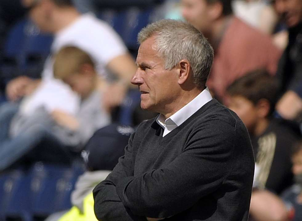 Gillingham interim manager Peter Taylor Picture: Barry Goodwin