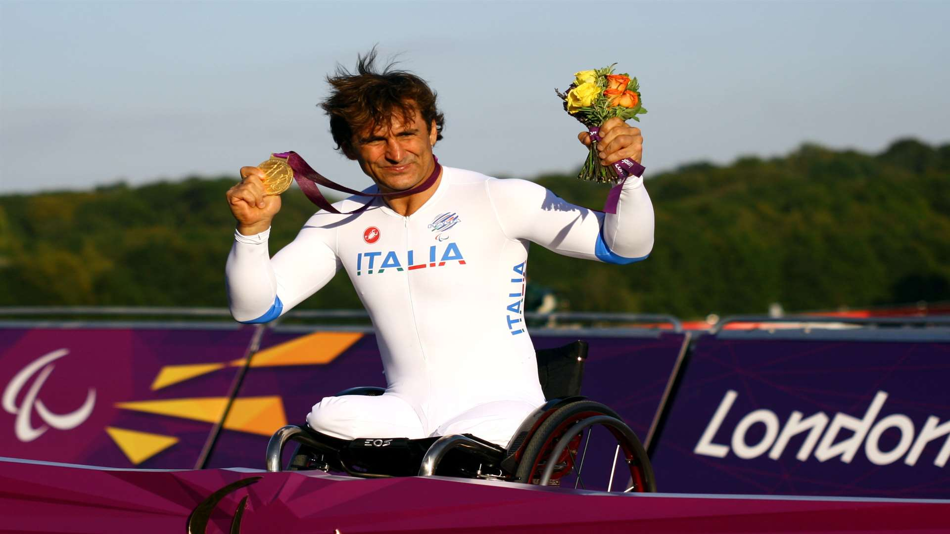 Brands Hatch favourite Alex Zanardi returns after his London 2012 success at the venue. Picture - MSV Press Office