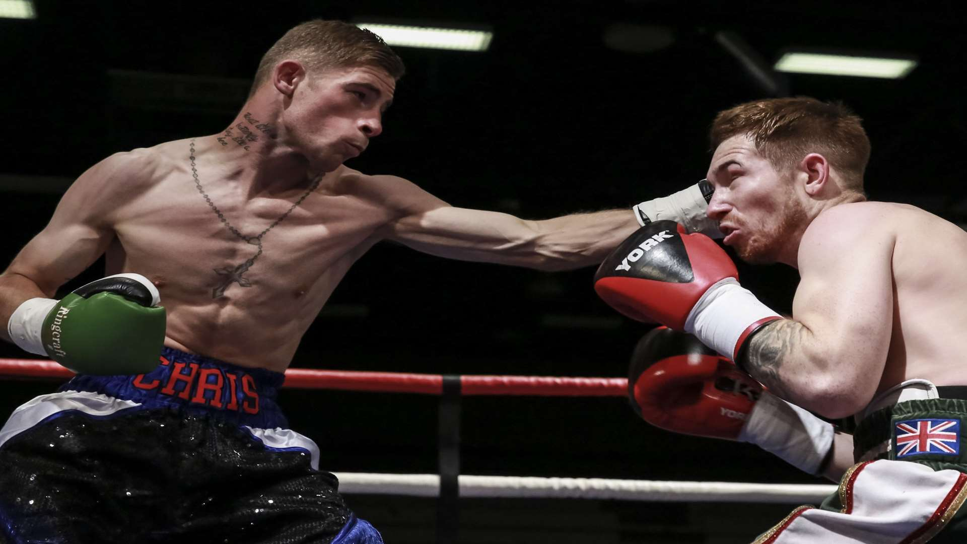 Maidstone boxer Chris Matthews Picture: Countrywide Photographic