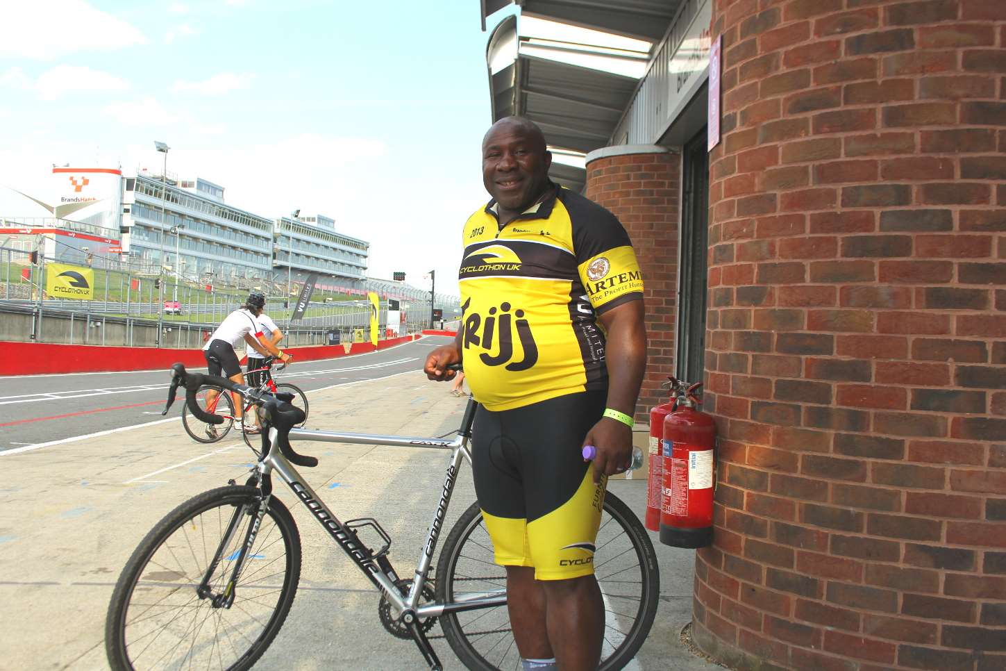 Cyclothon UK was set up by former England Rugby player Victor Ubogu, who regularly competes in the event